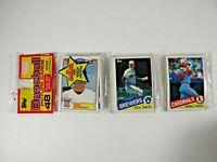 1985 TOPPS BASEBALL UNOPENED RACK  PACK 48 CARDS