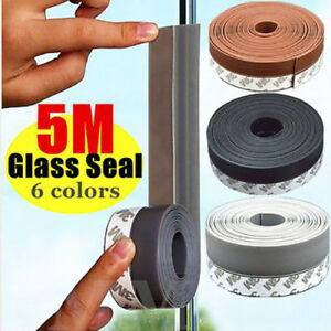 5M Waterproof Kitchen Sink Bath Basin Edge Mildew Sealing Strip Sealant Tape
