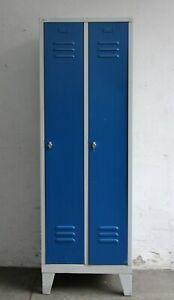 Spind Stahlspind Metallspind Umkleidespind - Vintage Loft Industrie Design #B881