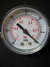 NIB Replacement Vacuum Gauge fits Whipmix Combination Unit or Power Mixer Plus