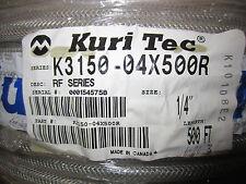 "Kuri Tec K3150 1/4"" x 500ft. Hose"
