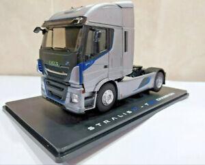 Iveco stralis 570 xp 4x2 570 xp trailer grey camion lkw truck eligor 115730.