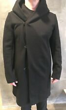 KAZUYUKI KUMAGAI ATTACHMENT OVERCOAT NEW Size 4/LARGE