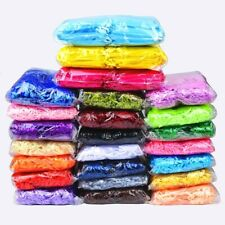 50pcs Jewelry packaging bags wedding party Drawable bags Gift Pouches 24 colors