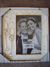 FRAME  Champagne Glasses Wedding ~  4 X 6 PHOTO / PICTURE New! Toast The Couple