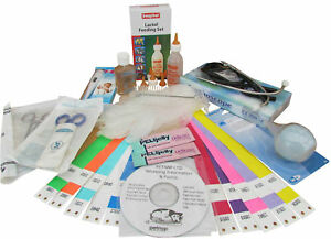 Puppy Whelping Kit dog, Puppies, welping box ID bands, Feeding Bottle
