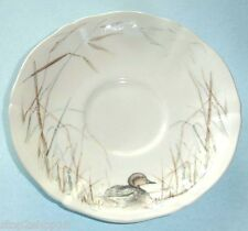 """Gien Sologne Tea Saucer Duck Motif French Faience 6"""" New"""