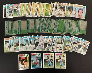 1977 TOPPS BASEBALL CARD LOT (80+/-) W/STARS *GRIFFEY MCCARVER CONCEPCION*