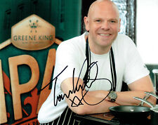 Tom KERRIDGE TV Celebrity Chef SIGNED Autograph 10x8 Photo 5 AFTAL COA