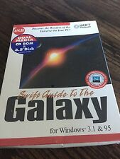 Cosmi Swift Guide To The Galaxy For Window 3.1 & 95 New In Big Box Sewed PC2