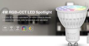2x Mi-Light 4W GU10 RGB Warm Cool White CCT LED Spotlight FUT103 MiLight MiBoxer