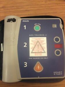BRAND NEW Philips AED Trainer 2 Heartstart M3752Awith Case