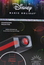 Disney Magic Holiday Mickey Mouse Countdown to Christmas Spotlight Projector