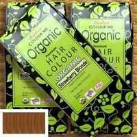 Radico Colour Me Organic Strawberry Blonde Pflanzenhaarfarbe Erdbeerblond, 100 g