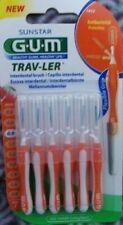 Gum  Trav-Ler 6 Stück orange 1412 2 Trav Ler   Siegelpackung, keine lose Ware