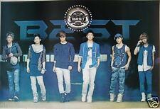 "B2ST ""BAND & GIANT LOGO"" ASIAN POSTER - Korean Boy Band, K-Pop, Dance, R&B Music"