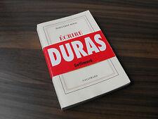Ecrire, Marguerite Duras, 1993 Livre Gallimard