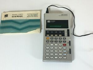 Sharp Electronic Calculator ELSI MATE EL-5001 TURNS ON BUT HAS FLAWS
