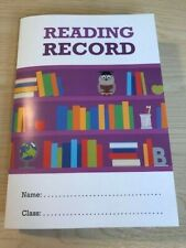Home schooling, home learning, Reading Log Reading Record