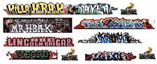 HO SCALE GRAFFITI DECALS 326 HBAK/SCOOBY DO MECRO ABE LINCOLN BRIGADE UNIQUE