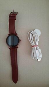 Fossil Smart Watch Damen, Modell DW 2 b, FTW 2113, bordeaux, gebraucht