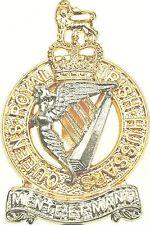 QUEENS ROYAL IRISH HUSSARS CLASSIC GENUINE REGIMENTAL LICENSED CAP BADGE