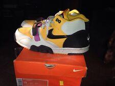 Nike Air Trainer 1 Size 13 Mens Gold Leaf/black-granite Sneaker