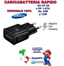 CARICABATTERIA RAPIDO EP-TA20EBE ORIGINALE SAMSUNG GALAXY S6 S6 EDGE S7 S7EDGE
