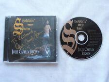 Signed Julie Caitlin Brown cd SHEDDIN' MY SKIN of Babylon 5 1998 ILLUMINA - Used
