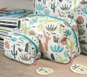 Large Desert In Bloom Washbag Cosmetic Make Up Bags Set Wash Bag Toiletries