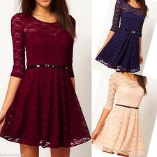 Clubwear 3/4 Sleeve Dresses Plus Size for Women