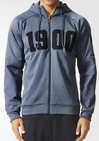 adidas FC Bayern Munich SF Zip Hoodie Sizes L, 3XL Grey RRP £50 BNWT AC6724