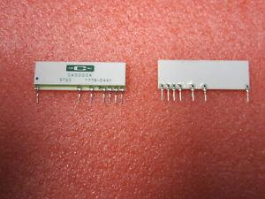 2pcs Caddock Type 1776 Precision Decade Resistor Voltage Dividers 1776-C441