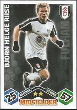 TOPPS MATCH ATTAX 2009-10-FULHAM & NORWAY-BJORN HELGE RIISE