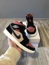 ✅ Nike Air Jordan 1 Mid Canyon Rust 37.5 US6.5W New DS Fast Shipping ✅