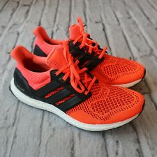 be4fcba58 2014 Adidas Ultra Boost 1.0 Solar Red Size 9 Orange