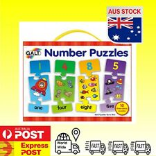 Brand New Galt Number Puzzle Matching Educational Letter Recognition Numeracy