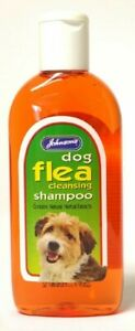 JOHNSON'S DOG FLEA CLEANSING SHAMPOO 125ML PETS, VETERINARY NATURAL EXTRACTS