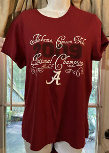 Alabama Crimson Tide Women's Red Shirt Size X Large Adult Sz XL NEW