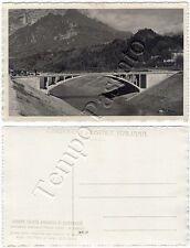 Cartolina di Ponte delle Schiette (Ponte nelle Alpi), panorama - Belluno