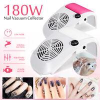 180W Nail Dust Suction Fan Art Salon Collector Manicure Vacuum  Dust **/ **%