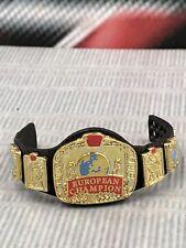 WWE Mattel Elite European Championship Title Belt Wrestling Figure Accessory