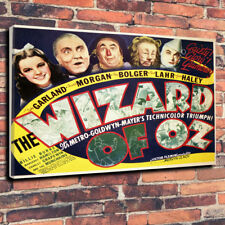 "The Wizard Of Oz Movie Printed Canvas Picture A1.30""x20""-30mm Deep Judy Garland."