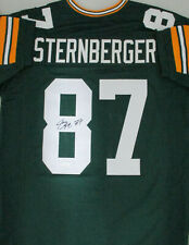 Packers JACE STERNBERGER Signed Custom Replica Green Jersey AUTO - JSA
