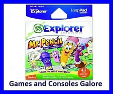 NEW!! LeapPad Game, Leapster Explorer™ Mr. Pencil Saves Doodleburg Leap Pad