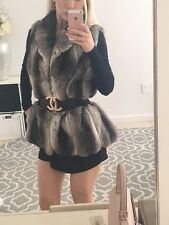 Revillon Genuine Empress Chinchilla Fur Vest