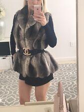 Revillon Genuine Empress Chinchilla Fur Vest