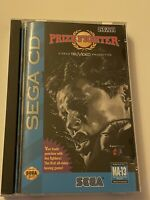 🔥 PRIZE FIGHTER  (Sega CD, 1993) MIB - TESTED & WORKS 💯 COMPLETE GAME 🔥