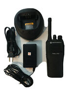 Clean Motorola CP200 UHF 4 Ch Refurbished 438-470 MHz Radio With Charger