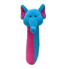 Elephant Newborn Babies Toy Rattle Comforter Soft Plush Squeaker - Fiesta Crafts